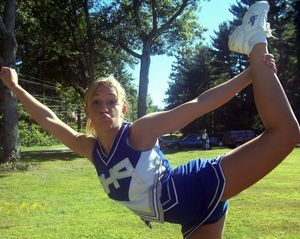college cheerleader upskirt